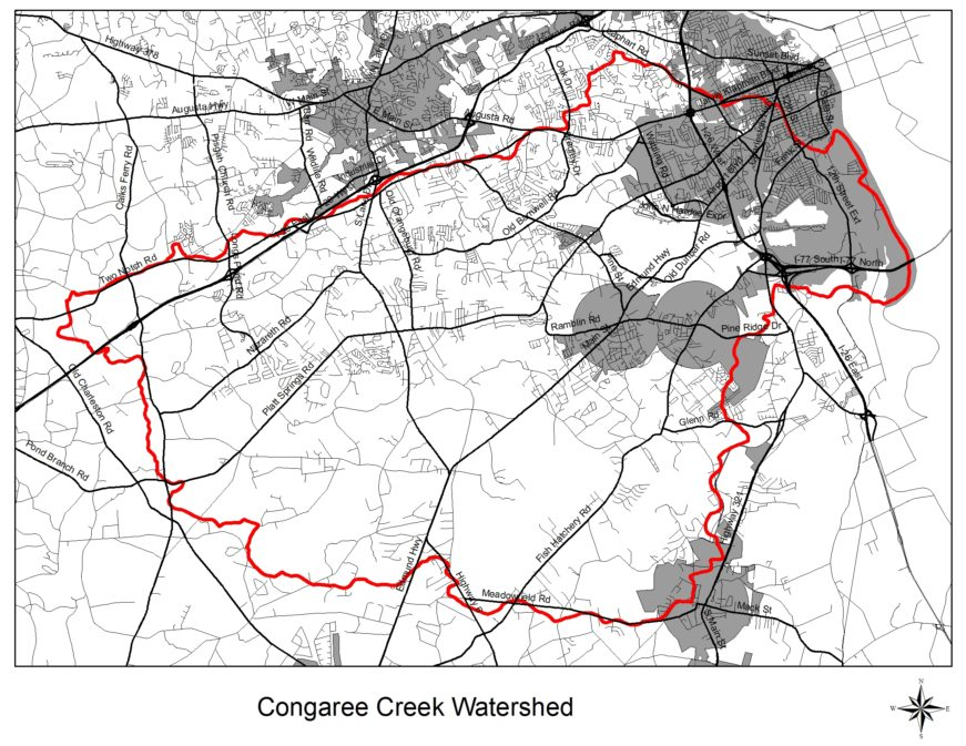 congaree_creek_watershed